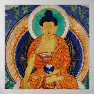 Shakyamuni Thangka Poster