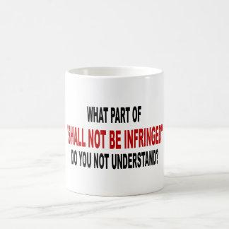 Shall Not Be Infringed Basic White Mug