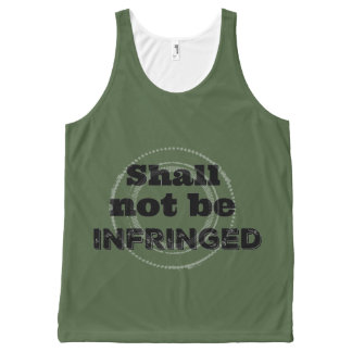 Shall Not Be Infringed - Patriot Pride All-Over Print Tank Top
