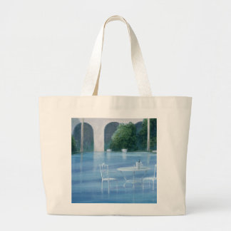 Shallow End Large Tote Bag