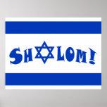 Shalom Flag Posters