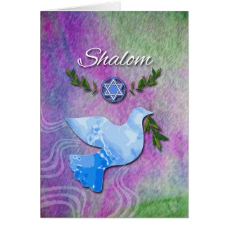 Shalom for Rosh Hashanah, Peace Dove Card