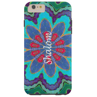 Shalom iPhone 6 Plus Tough Case Mandala Tough iPhone 6 Plus Case