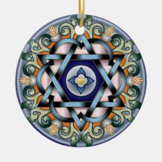 Shalom Ornament