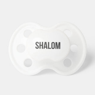 Shalom Pacifier