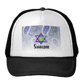 Shalom Paisley blue Cap