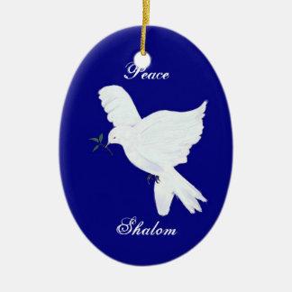 Shalom-Peace Dove Ornament