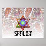 Shalom Pink Paisley Print