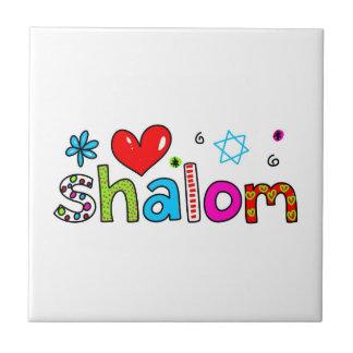 Shalom Small Square Tile