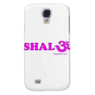 Shalom with Om in Sanskrit Samsung Galaxy S4 Cases