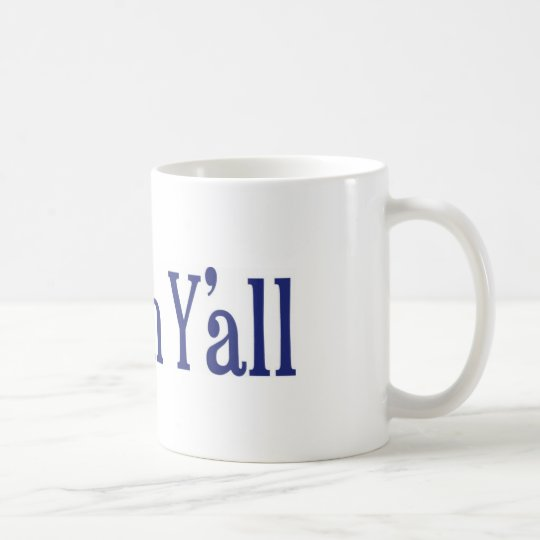 Shalom Y'all Coffee Mug