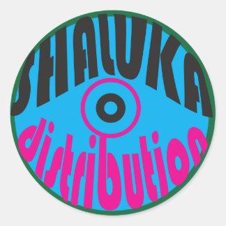 "Shaluka Dist. ""Groovy"" Sticker"
