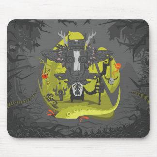 sham b/w mouse pad
