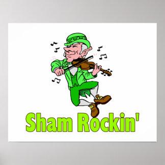 Sham Rockin Fiddle Poster