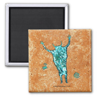 Shaman Square Magnet