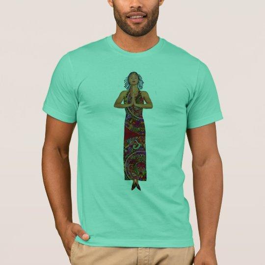 Shamaness Praying (deluxe) T-Shirt