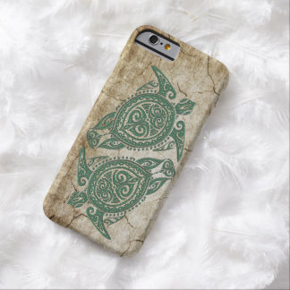 Shamanic Sea Turtle Symbol + your ideas Barely There iPhone 6 Case