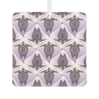 Shamanic Sea Turtles Pattern - violet