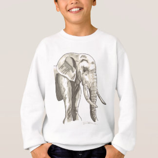 Shamanic Spirit of Elephant Sweatshirt