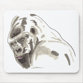 Shamanic Spirit of Gorilla Mouse Mat
