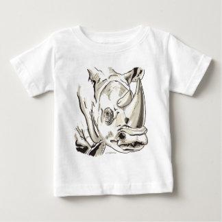 Shamanic Spirit of Rhino Baby T-Shirt