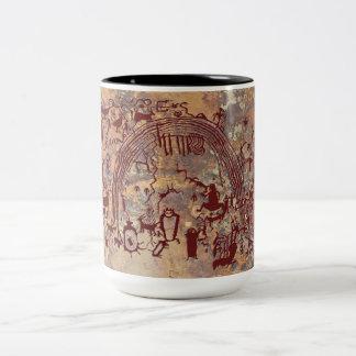 Shamans Panel Two-Tone Coffee Mug