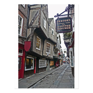 Shambles Street of York Postcard