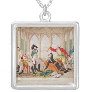 Shame and Regret, a Tragi-Comic Play' Square Pendant Necklace