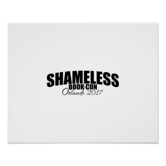 Shameless Book Con 2017 Signing Poster – CUSTOMIZE