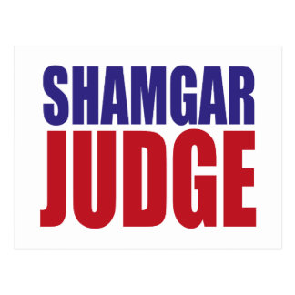 Shamgar Judge Postcard