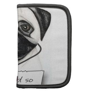 Shaming the Dog Pug Folio Planner