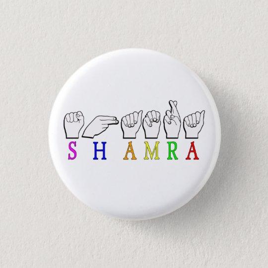 SHAMRA 3 CM ROUND BADGE