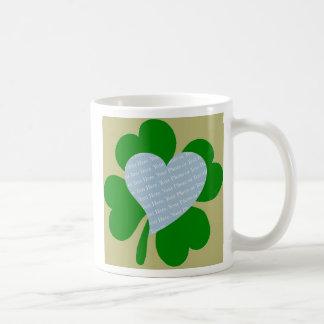 Shamrock 20 Wt Ht Gld Ltt Coffee Mug