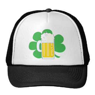 Shamrock and Beer Cap