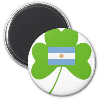 Shamrock-Argentina Magnet