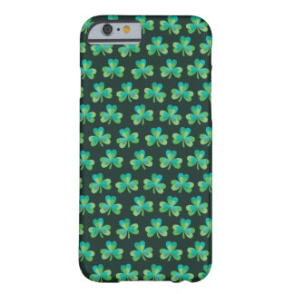 Shamrock Black iPhone 6/6S Barely There Case