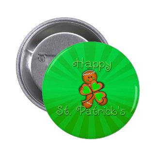 SHAMROCK BOY HAPPY ST. PATRICKS by SHARON SHARPE 6 Cm Round Badge