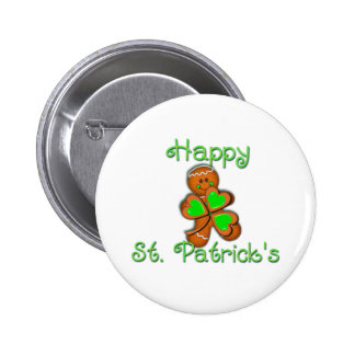 SHAMROCK BOY HAPPY ST PATRICKS by SHARON SHARPE Pinback Buttons