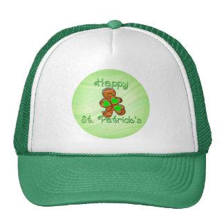 SHAMROCK BOY HAPPY ST PATRICKS by SHARON SHARPE Trucker Hats
