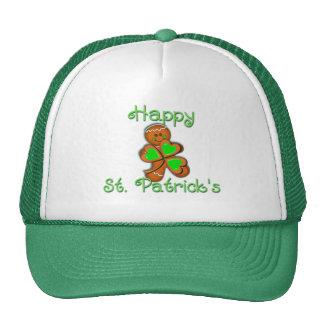 SHAMROCK BOY HAPPY ST PATRICKS by SHARON SHARPE Mesh Hat