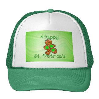 SHAMROCK BOY HAPPY ST PATRICKS by SHARON SHARPE Mesh Hats