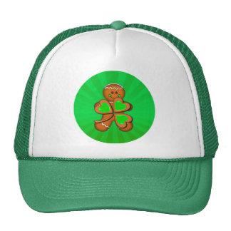 SHAMROCK BOY LIGHT RAYS by SHARON SHARPE Trucker Hats