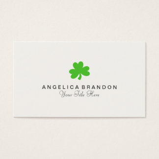 Shamrock Business Card