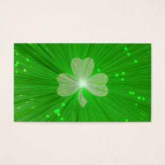 Shamrock business card template
