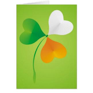 shamrock card