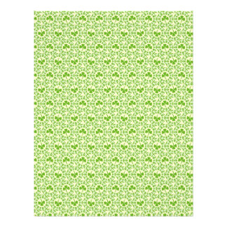 Shamrock Circles Dual-sided Scrapbook Paper 21.5 Cm X 28 Cm Flyer