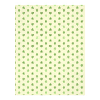 Shamrock Circles Dual-sided Scrapbook Paper 2 21.5 Cm X 28 Cm Flyer