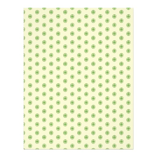 Shamrock Circles Dual-sided Scrapbook Paper 2 Personalized Flyer