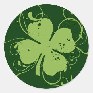 Shamrock Classic Round Sticker