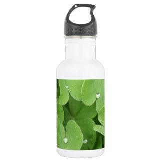 Shamrock Clover Leaves 532 Ml Water Bottle